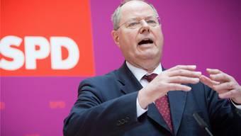 Der SPD-Kanzlerkandidat Peer Steinbrück will keine grosse Koalition.