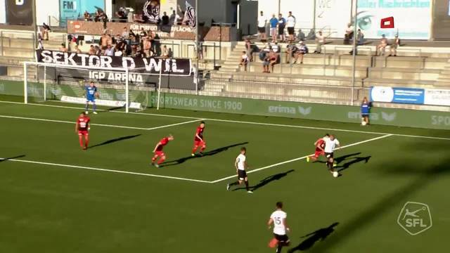 Challenge League, 2018/19, 4. Runde, FC Wil – FC Aarau, 2:0,  Silvano Schäppi