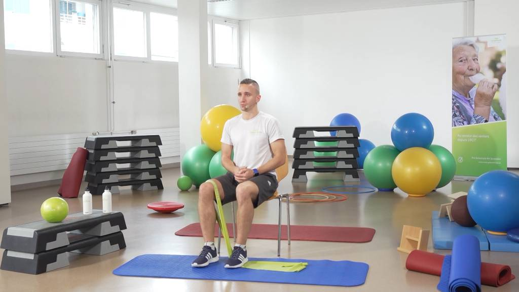 «Gymnastik im Wohnzimmer» vom 25. März 2021