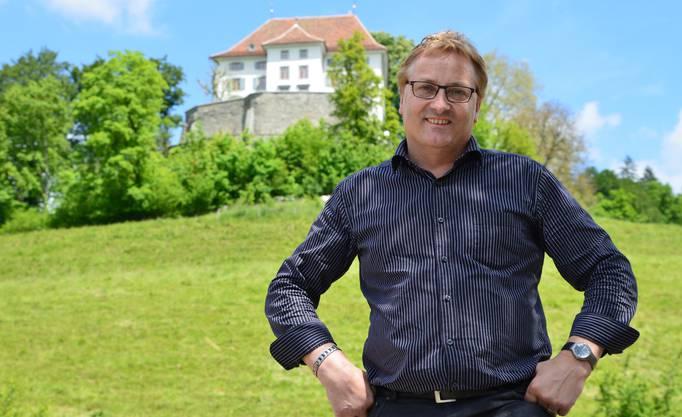 Martin Goldenberger wünscht der Gemeinde Gesundheit.