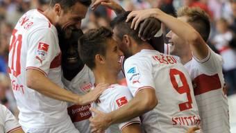 Die Stuttgarter gewannen gegen Hertha Berlin