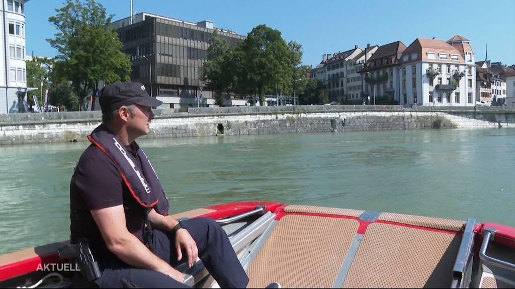 Hochwasser-Patrouille: Nach den Unwettern gibt's viel Arbeit für die Solothurner Wasserpolizei