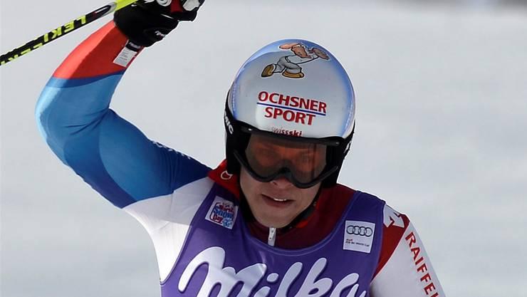 Gino Caviezels elfter Rang in Adelboden im Jahr 2013 war nur ein Strohfeuer.