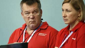 Gennadi Touretski gab sein Wissen auch an die Schweizer Schwimmer weiter