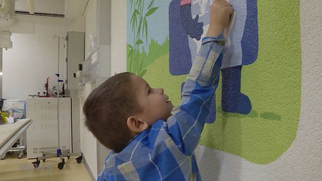 Farbiger Lichtblick für kranke Kinder
