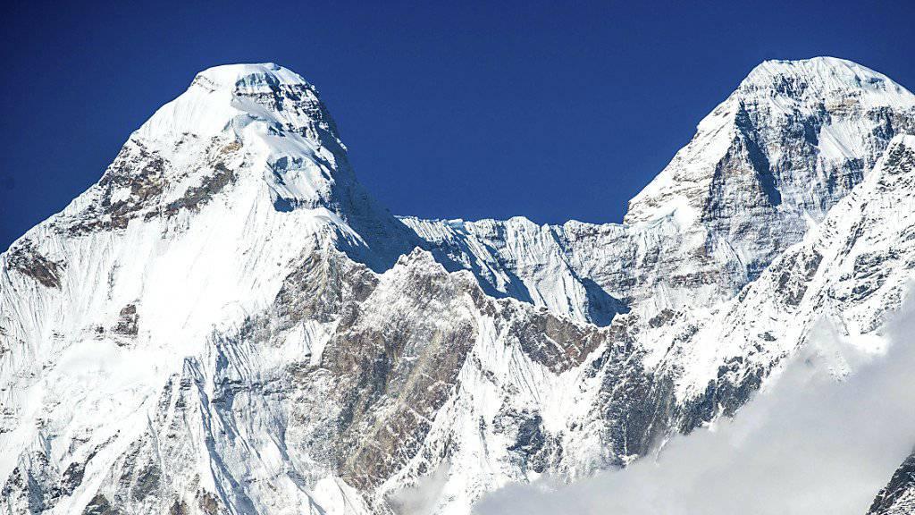 Gut 7800 Meter hoch: Indiens zweithöchster Berg Nanda Devi. (Archivbild)