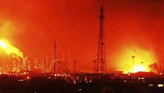 Die tödliche Explosion ereignete sich in einer Öl-Raffierie in Amuay, einer Stadt im Nordwesten Venezuelas