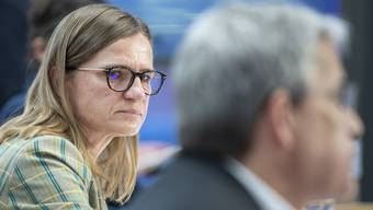 Virginie Masserey vom Bundesamt für Gesundheit (BAG)informiert regelmässig an Medienkonferenzen zum Coronavirus.