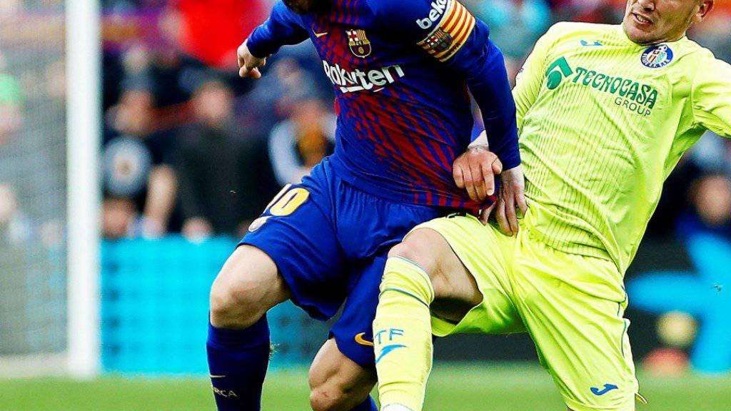 Lionel Messi und Co. bleiben seit dem 8. April 2017 (0:2 gegen Malaga) erstmals wieder ohne Torerfolg