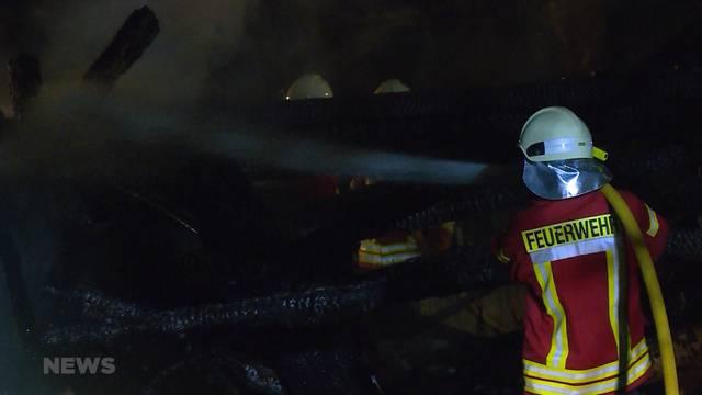 Unbewohntes Haus in Schüpfen abgebrannt