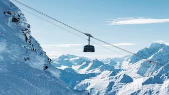 Eine Gondel im Skigebiet Verbier: In der Bergbahnbranche geht es der einen Hälfte gut, die andere strauchelt.