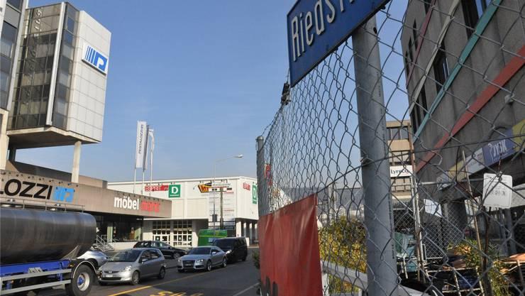 Das Industriegebiet Silbern-Lerzen-Stierenmatt. BHI