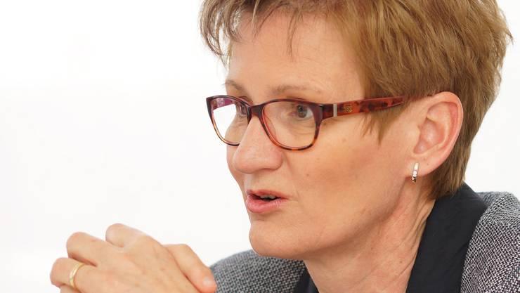 «Nach den grossen Investitionen in den öV sind jetzt die Strassen dran», kündigt Sabine Pegoraro, FDP-Baudirektorin, an. (Archivbild)