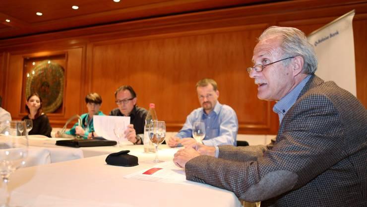 Willy Reinmann, Geschäftsführer der Stadt- und Gewerbevereinigung Solothurn