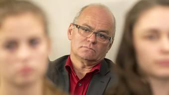 Er tritt in den Hintergrund, drei SP-Politiker bewerben sich für sein Amt als SP-Fraktionspräsident: der abgewählte Schwyzer Nationalrat Andy Tschümperlin. (Archiv)