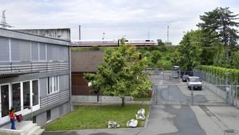 Das Empfangs- und Verfahrenszentrum in Basel (Archiv)