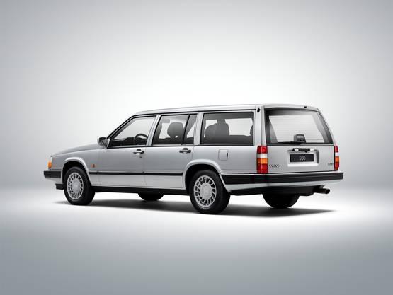 Alter Schwede: Der Volvo 900 kam 1990 auf den Markt.