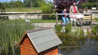 Das Altersheim St. Katharinen Solothurn hat ein eigenes Tierpärkli