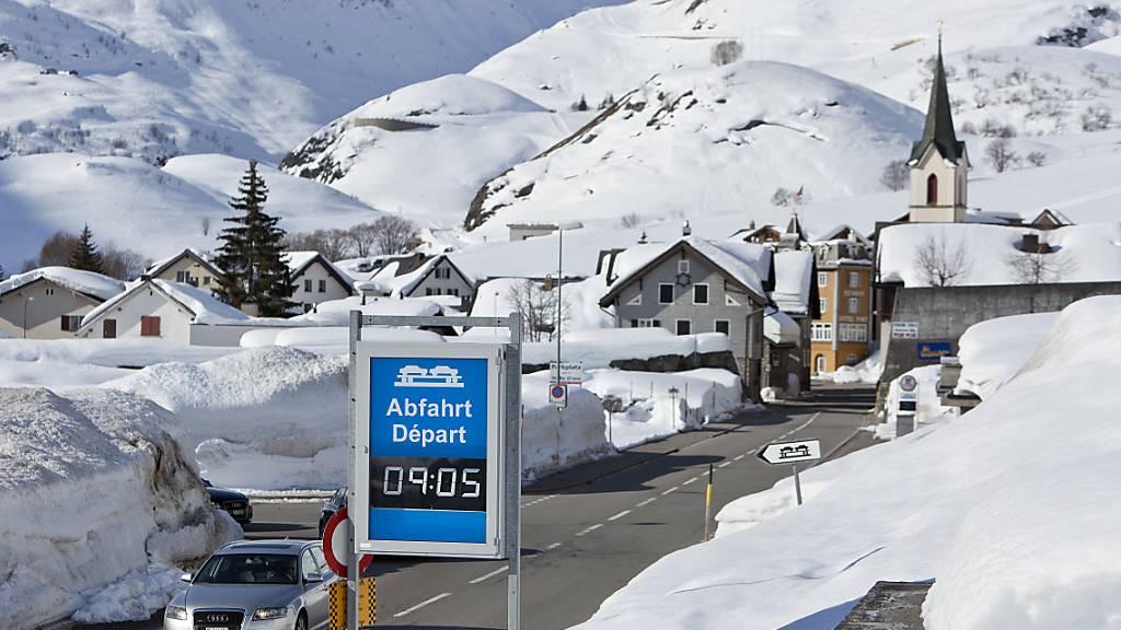 Die nordischen Disziplinen der Winter-Militärweltspiele 2025 sollen in der Region Andermatt/Realp/Goms stattfinden. Im Bild: Andermatt im Winter. (Themenbild)
