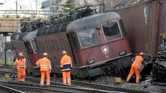 Nach Kollision zweier Güterzüge: Gotthardstrecke bis abends unterbrochen