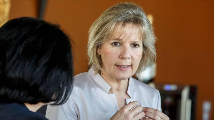 Regierungsrätin Brigit Wyss möchte dem Streit zwischen den Gemeinden um die Gelder aus dem Kernkraftwerk Gösgen ein Ende setzen