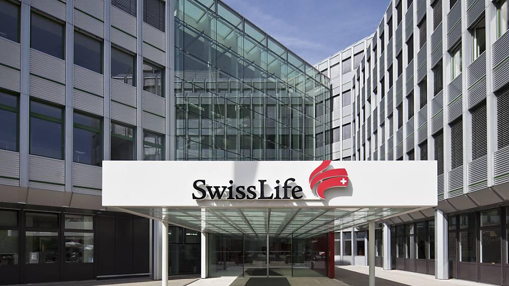 Swiss Life nimmt nach neun Monaten weniger Prämien ein