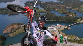 649 Treppenstufen in 43 Minuten - mit dem Fahrrad
