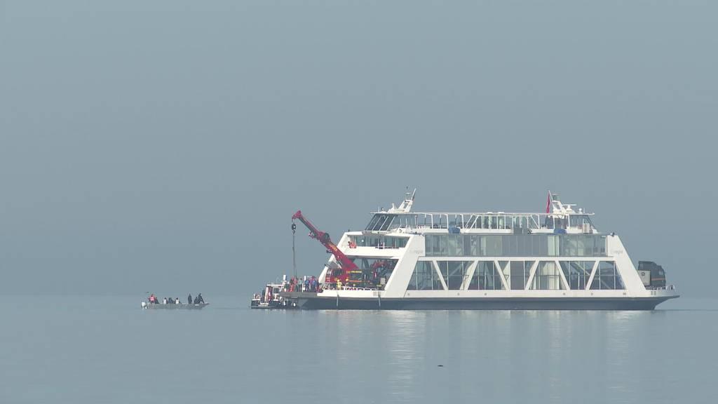 Nach Absturz: Flugzeug wird aus Bodensee geborgen