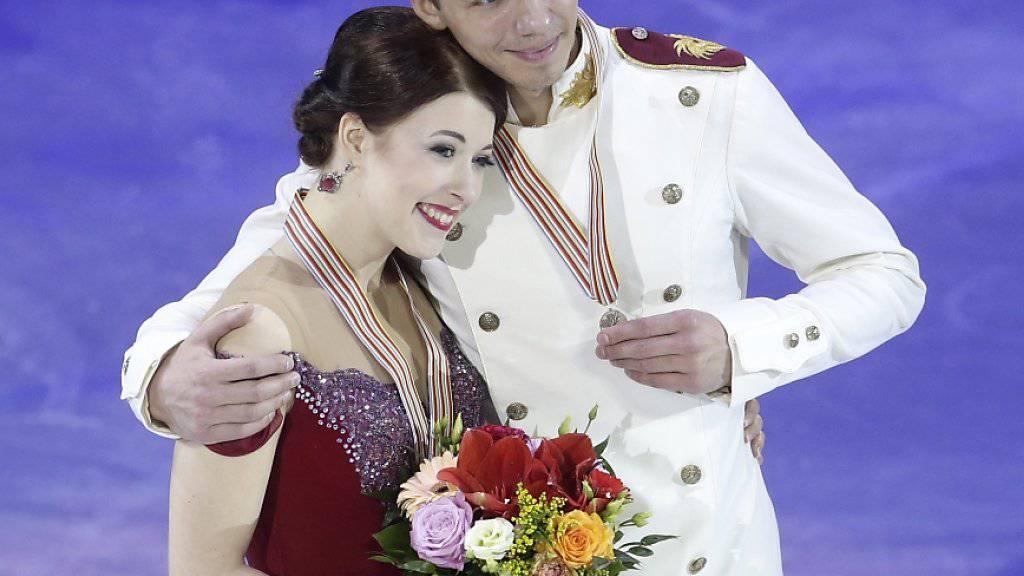 Bobrowa und Solowijew präsentierten sich im letzten Januar mit EM-Bronze