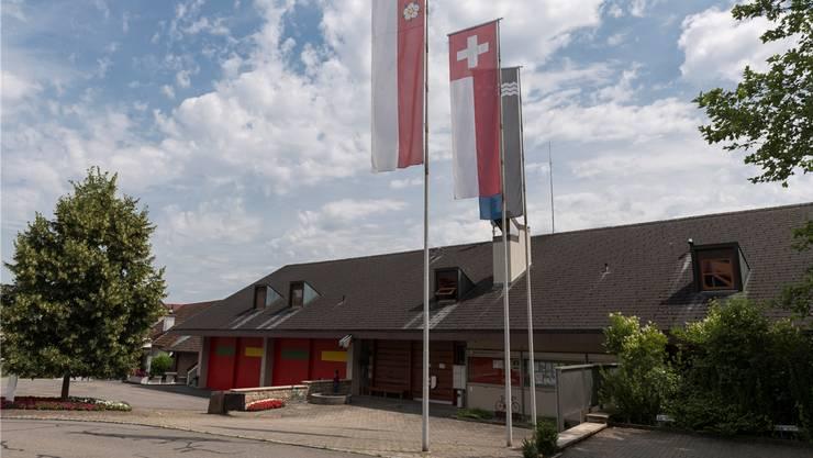 Das Gemeindehaus von Auenstein.