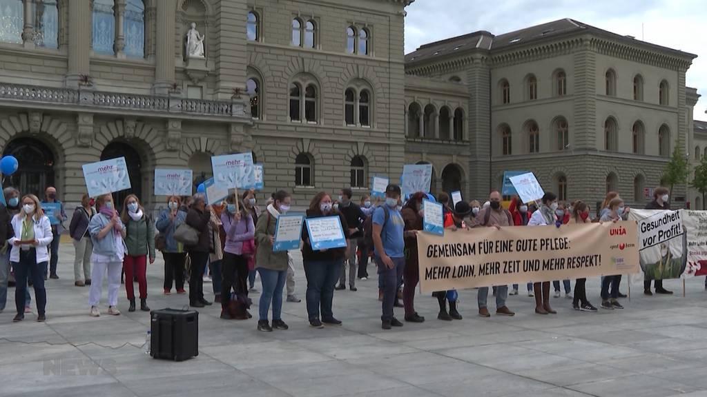 «Applaus ist nicht genug»: Am Tag der Pflege schlägt Branche Alarm und fordert Massnahmen