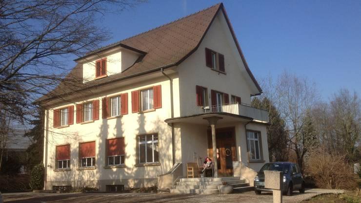 Die Liegenschaft der Benz'schen Stiftung an der Maria-Theresia-Gasse in Frick wird ab Montag umgebaut. zvg