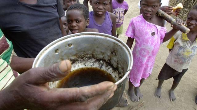 Flüchtlingslager in Angola (Symbolbild)