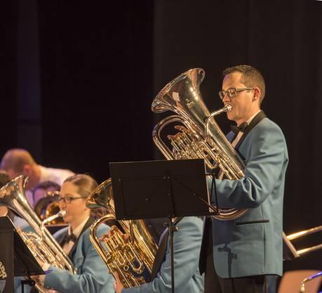 Die Brass Band Imperial Lenzburg am Neujahrskonzert 2018 in Möriken Fotos: © peterw.ch