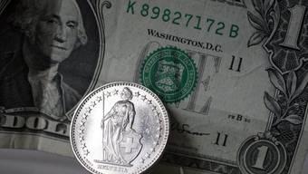 Der grösste Teil des Vermögenszuwachses in der Schweiz ist auf die Aufwertung des Frankens gegenüber dem Dollar zurückzuführen.