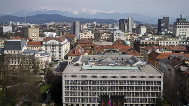 Blick auf Ljubljana (Archiv)