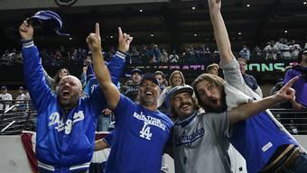 Die Dodgers bejubeln ihren ersten Titel seit 32 Jahren