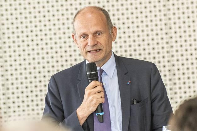 70 Jahre Staatsvertrag am Euroairport. Laurent Touvet