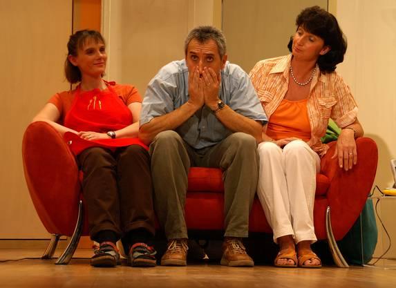 Ein Highlight der Theatergruppe Schlieren war das Stück Achtung Internet. Aufgeführt im Jahr 2006 (Bild Franziska Schaedel)