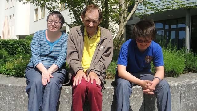 «S'isch mega!» Greta, Otto und Anna sind geistig behindert und machen am insieme Sponsorenlauf mit – ein Interview.
