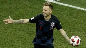 WM 2018: Impressionen des Achtelfinals zwischen Kroatioen und Dänemark