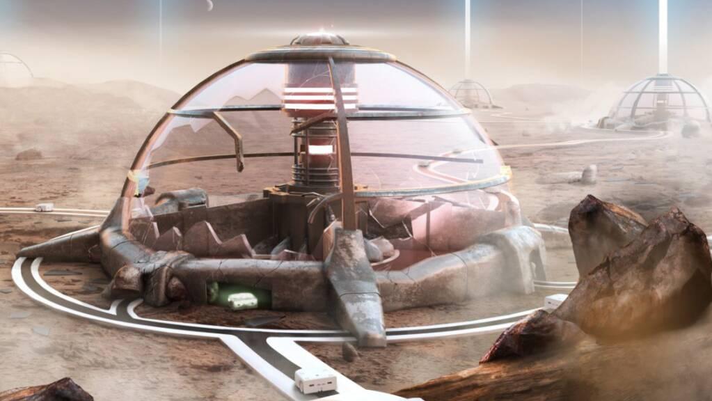 Mit solchen Thymio-Robotern haben 700 Schüler weltweit in den letzten Wochen auf einer «Mission to Mars» virtuell ein beschädigtes Kraftwerk repariert. Das Projekt unter der Leitung der Lausanner EPFL fördert Schlüsselkompetenzen des 21. Jahrhunderts, etwa das Computational Thinking.