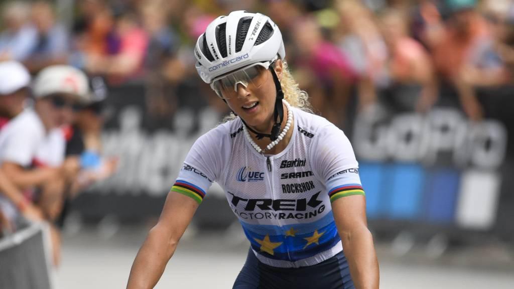 Jolanda Neff im letzten Rennen noch abgefangen