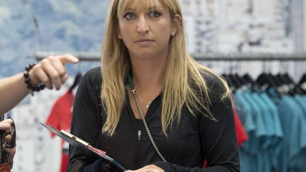 Timea Bacsinszky bestreitet in Rio zusammen mit Martina Hingis für die Schweiz die Doppel-Konkurrenz