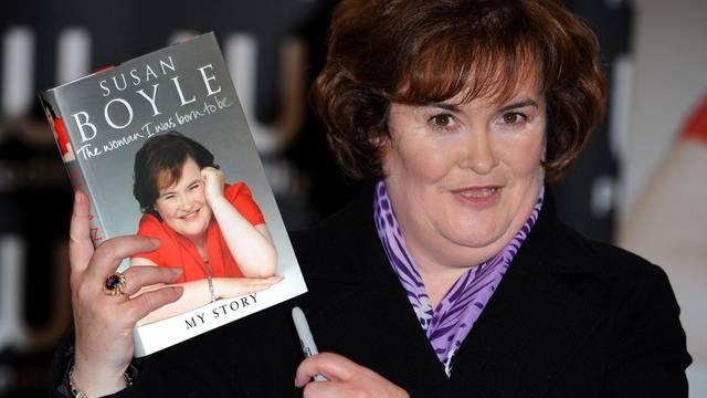 Ein Buch über Susan Boyle gibt es bereits, nun soll ein Musical ihr Leben besingen (Archiv)