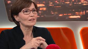 """Der Zusammenschnitt von Regula Rytz im """"TalkTäglich""""."""