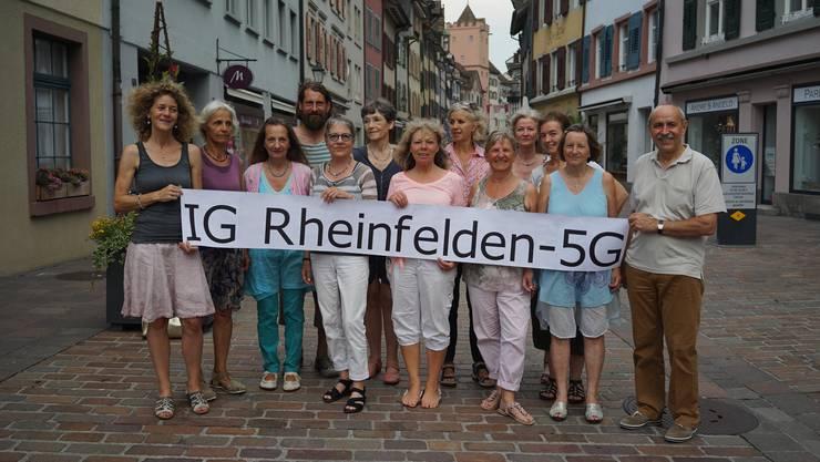 Der Name ist Programm: Die IG kämpft «gegen den ungebremsten Antennenausbau» in Rheinfelden.