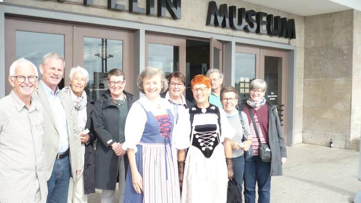Nach dem Besuch im Museum, vor der Schifffahrt
