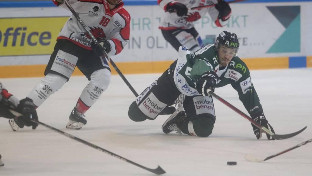 EHC Olten gewinnt nach unglaublichem Hockey-Krimi