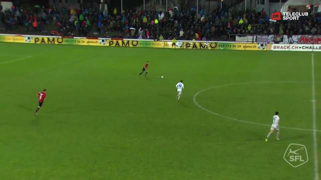 Challenge League, 2018/19, 16. Runde, FC Aarau– FC Lausanne, 2:2 Goran Karanovic